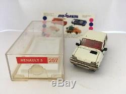 Majorette Renault 5 R5 Crédit Mutuel Promotionnelle Ref 257 Série 200 En Boite