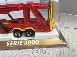 Majorette Renault Ps 30 Porte Autos Voitures Ref 3061 Etat Neuf En Boite