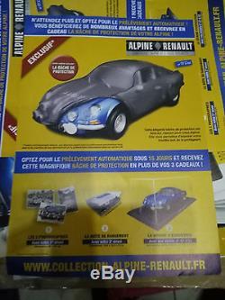 Maquette Alpine A110 Eaglemoss non montée 1/8 complète