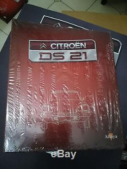 Maquette Citroen DS 21 Altaya non montée 1/8 complète