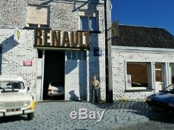 Maquette Diorama Garage Renault idéal Norev Minichamps Ixo 1/43