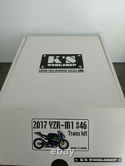 Maquette Transkit Motogp 1/12 K's Workshop Yamaha M1 2017