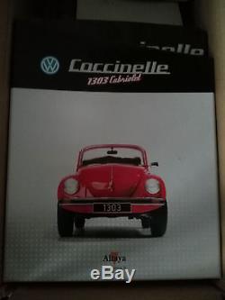 Maquette VW Coccinelle cox Altaya partiellement montée 1/8 non complète