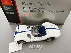 Maserati Tipo 61 Birdcage Sieger 1000 Kms Rennen Nurburgring 1960 CMC 1/18 M-047