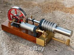 Materialbausatz Stirlingmotor Die große Laura Heißluftmotor