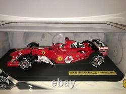 Mattel Hot Wheels 1/18 Ferrari F2004 M. Schumacher Malboro Italian GP B6200-2456