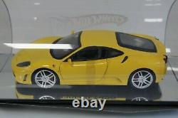 Mattel Hot Wheels 1/18 Ferrari F430 yellow H2758 2261