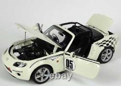 Mazda Roadster Mx5 2006 Nc Nr-a #05 Japan Version Marble White Autoart 80644