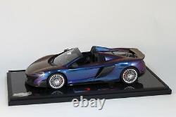 McLaren 675LT Spider Chameleon Special Packaging 1 of 8 BBR BBRC1817CHACOF NEW