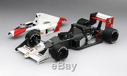 McLaren MP4/5 #2 Alain Prost 2nd Place Gp Monaco World Champion 1989 118 Model