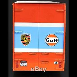 Mercedes 0317 camion Porsche Gulf 1/18 Schuco 450032200