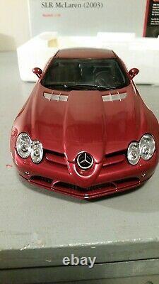 Mercedes Benz SLR Mc Laren 2003 CMC 1/18 (ref M- 045A)