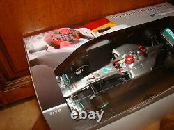 Mercedes F1 Amg Petronas M. Schumacher Gp Hockenheim 2012 1/18eme Superbe Rar