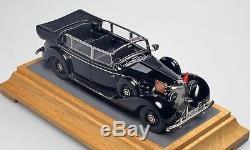 Mercedes W150 770 blindée du 3ème reich ouverte EMC Models 1/43