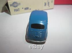 Mercury #18 Superbe Fiat 600 Bleue Neuf Boite Speciale Rare Dans Cet Etat