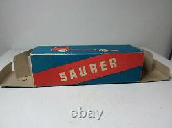 Mercury #89a Ancien Rare! Saurer Tipping Truck Cassone Neuf Boite D'origine