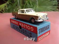 Mercury Art. 27 Studebaker Golden Hawk Mint in box So Dinky