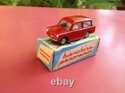Mercury Autobianchi Bianchina Panoramica N° 11 Near Mint in box So Dinky