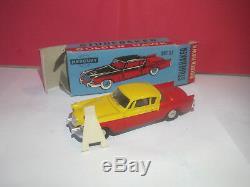 Mercury Superbe Studebaker Golden Hawk #27 Rouge/jaune Neuf Boite Rare