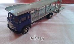 Mercury Très Rare Export Japon Fiat 682 Bleu Fonce Bisarca Porte Voitures Neuf