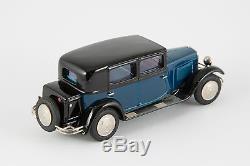 Miniature CCC montée Peugeot 12/six berline grand luxe 1929