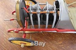 Miniature Voiture Fiat 130 HP F2 Racer 1907 Montee 1/8