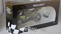 Minichamps 122133035 YAMAHA YZR M1 MONSTER TECH3 CRUTCHLOW MOTOGP 2013 1/12