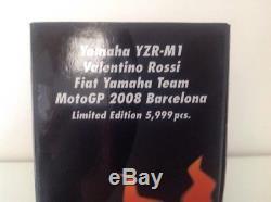 Minichamps 1/12 Valentino Rossi Barcelona 2008