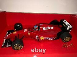 Minichamps 1/18 Ferrari F412 T2 test M. Schumacher 1996 Tabac 510 961801 2009
