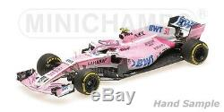 Minichamps SAHARA FORCE INDIA F1 MERCEDES VJM11 ESTEBAN OCON 2018 1/18