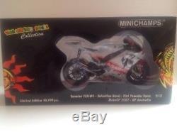 Minichamps Valentino Rossi Yamaha Gp 2007 Australia