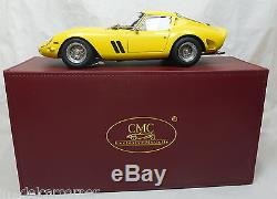 Modellauto 118 CMC Ferrari 250 GTO 1962 gelb yellow M-153