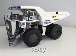 NEUF! Liebherr R9800 rétro THIESS 1/50 + Liebherr T282B THIESS 1/50