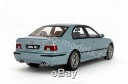 NEUVE BMW M5 e39 silverwater blue 1/18 (2500ex) otto ottomobile OT554