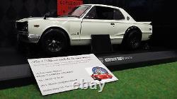 NISSAN SKYLINE 2000 GT-R KPGC10 WIDE WHEEL 1/18 KYOSHO 08123W voiture miniature