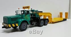 N° 56 BERLIET TBO 15 M3 6 x 4 Camion Semi Remorque Porte-Engins ZUCCONI 1/43