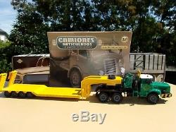 N° 57 BERLIET TBO 15 M3 6 x 4 Camion Semi Remorque Porte-Engins ZUCCONI 1/43
