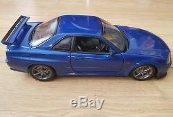 Nissan Skyline Gtr R34 Autoart 1/18