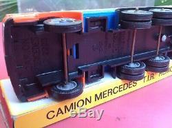Norev Mercedes LP 2223 Semi Remorque Ref 125 Boite d'origine so dinky