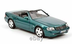 Norev Mercedes SL 500 1999 Turquoise metallic 1/18 - Limited 200 ex 118
