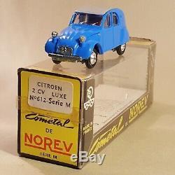 Norev Modèle n° 612 Citroën 2CV 1961 Luxe Cometal Ancien