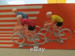 Norev Plastigam 212 Coffret Presse Tour Cycliste 9 En Boite Mib Uncommon L@@k