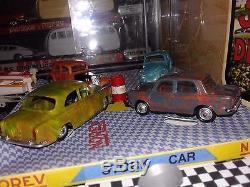 Norev ancien coffret stock car en très belle état SOCLE BOITE REPRO