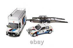 OT328 PACK RALLYE MONTE-CARLO 1985 PEUGEOT 205 T16 & PEUGEOT J5 Ottomobile 1/1