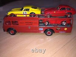 Old Cars Camion Fiat Bartoletti Ferrari + 3 Voitures Art Best Top Model 1/43