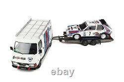 PACK RALLYE LANCIA DELTA S4 RMC 1986 1/18 OttO OttOmobile OT349 ENSTOCK