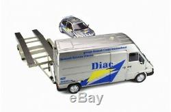 PACK RALLYE MONTE CARLO RENAULT CLIO MAXI 1/18 OttO OttOmobile OT289B EN STOCK