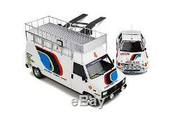 PACK RALLY MONTE-CARLOS 1985 Peugeot 205 T16 1/18 OttO OttOmobile OT328 EN STOCK
