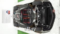 PAGANI ZONDA R carbon fiber pattern 1/18 AUTOart SIGNATURE 78261 voiture miniatu