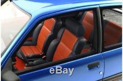 PEUGEOT 205 GTI 1L9 BLEU MIAMI 1/12 OttO models OttOmobile G041 EN STOCK
